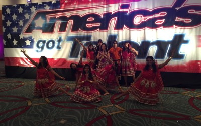We made it to America's Got Talent!